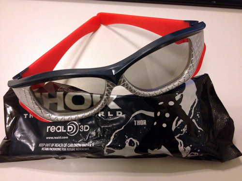 雷神3D眼镜1000积分兑换