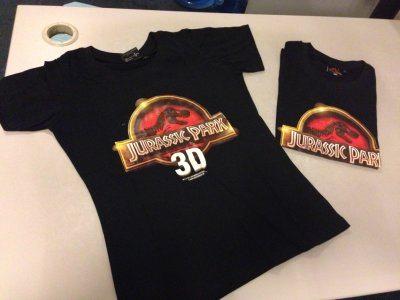 侏罗纪公园T恤1000积分兑换