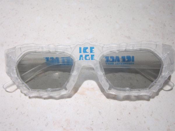 《冰川时代4》主题3D眼镜